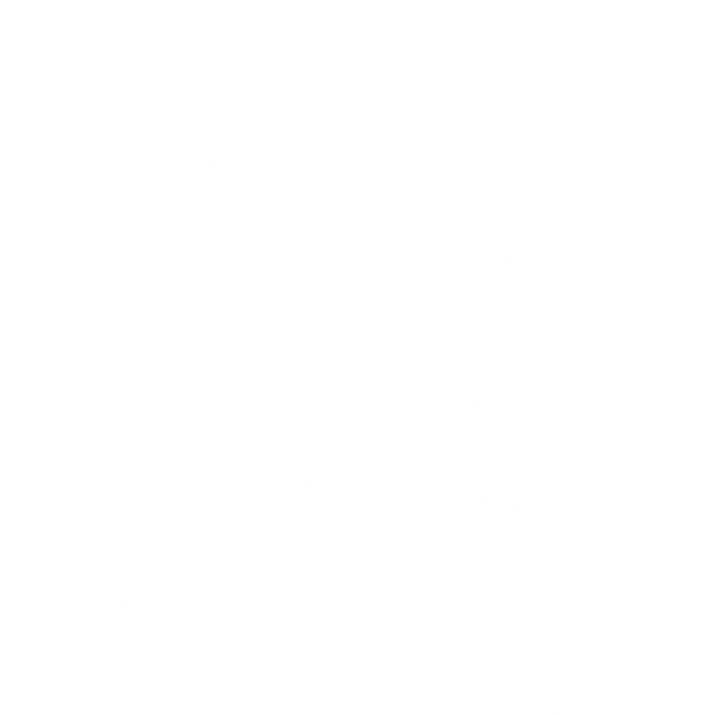 Cougars Logo - White